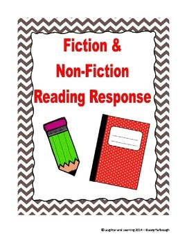 Book Report Graphic Organizers and Reading Response