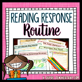 Reading Response Routine (Guided Response)