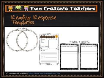 Reading Response Activities