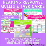 Reading Response Choice Boards & Task Cards Bundle