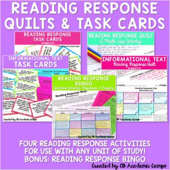 Reading Response Activities Bundle