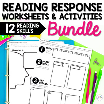 Reading Response Activities Bundle