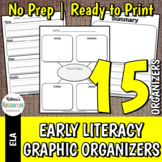 Early Literacy Graphic Organizers - Great for Primary Leve