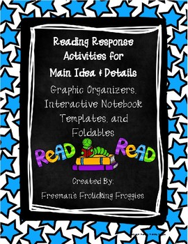 Reading Response Activities-Main Idea & Details