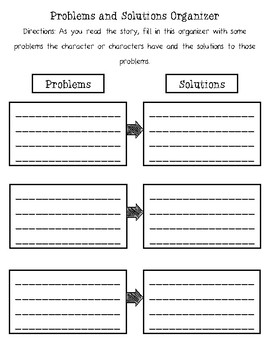 Reading Response Activities-Story Elements