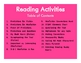 Reading Response Activities for Any Book