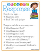 Reading Response Activities for Independent Reading and Literacy Centers