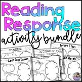 Reading Response Activity Bundle