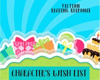 Reading Response Activity - Character Wish List