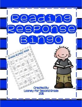Reading Response Bingo
