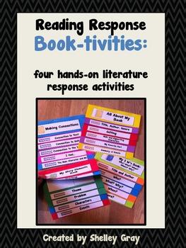 Reading Response Book-tivities: four hands-on literature response activities