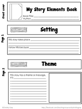 Reading Response Book-tivities: four hands-on literature response activities