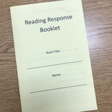 Reading Response Booklet