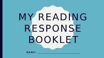 Reading Response Booklet