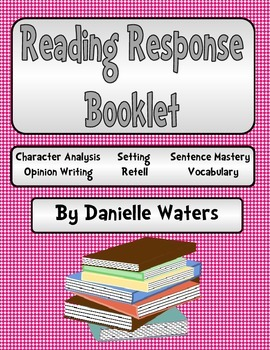 Reading Response Booklet (Comprehension Strategies)