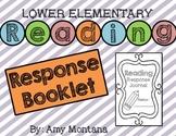 Reading Response Booklet {Lower Elementary K-2}