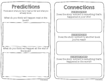 Reading Response Booklet {Upper Elementary 3-5}