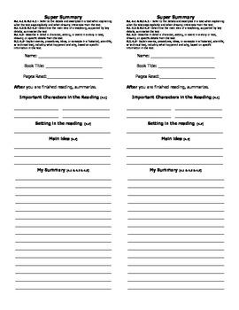 4th Grade Common Core Reading Response Bookmarks