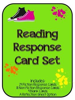 Reading Response Card Set