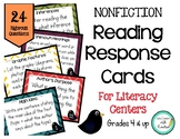 Reading Response Cards (Nonfiction)