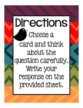 Reading Response Cards (Nonfiction)