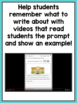Reading Response Center Activities for First Grade