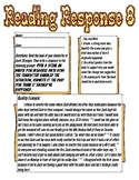 Reading Response: Change a scene to how you think it should be.