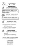 Reading Response Cheat Sheet (R.A.C.E. Strategy Book Mark)