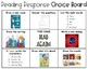 Reading Response Choice Board {Primary}