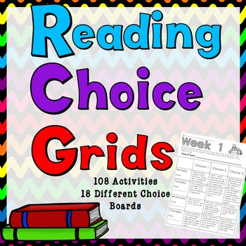Reading Response Choice Grids