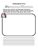 Reading Response Choice Worksheets