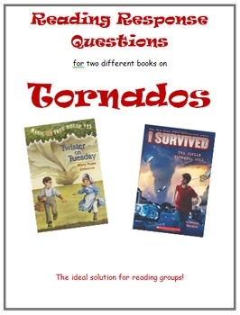 Reading Response Combo -- Twister on Tuesday & I Survived