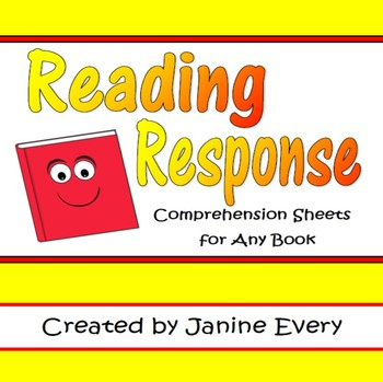 Reading Response: Comprehension Pages for Any Book