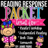 Reading Response Comprehension Printables