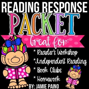 Reading Response Comprehension Printables