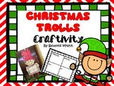 Reading Response Craft for Christmas Trolls Jan Brett