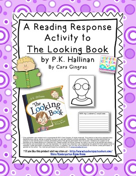 Reading Response Craftivity to The Looking Book by P.K. Hallinan