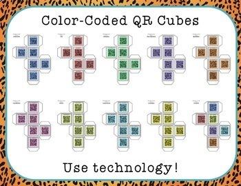 Reading Response Cubes