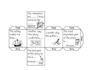 Reading Response Cubes and Cards