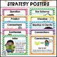 Reading Comprehension Strategies Posters Chevron