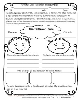 Reading Response: Differentiated Literature Circle *BUNDLE* CCSS aligned