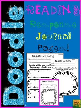 Reading Response Doodle Pages
