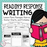 Reading Response Essay Writing Unit