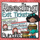 Reading Response Exit Ticket Bundle