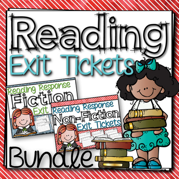 Reading Response Exit Ticket Bundle