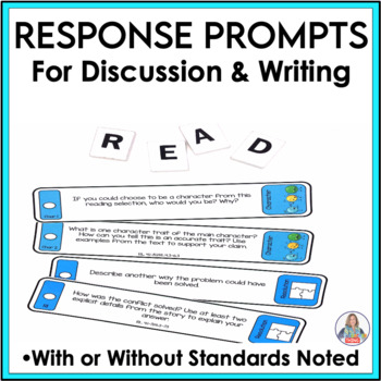 Reading Questions for Response to Literature