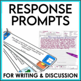 Response to Literature Reading Prompts