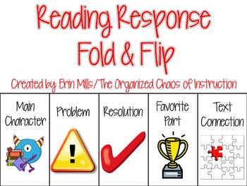 Reading Response-Fiction Fold & Flap Booklet