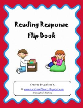 Reading Response Flip Book: REVISED