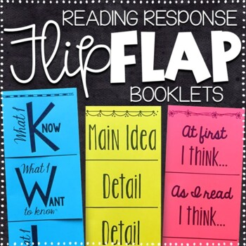 Reading Foldables - 25 No Prep Booklets!